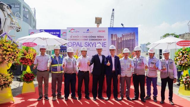 Đất Xanh cùng Coteccons khởi công dự án Opal Skyline - Ảnh 3.