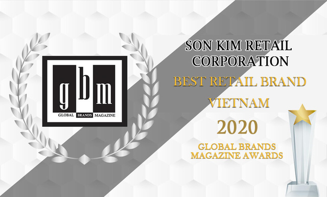 Tạp chí Global Brands vinh danh Sơn Kim Retail là thương hiệu bán lẻ tốt nhất - Ảnh 1.