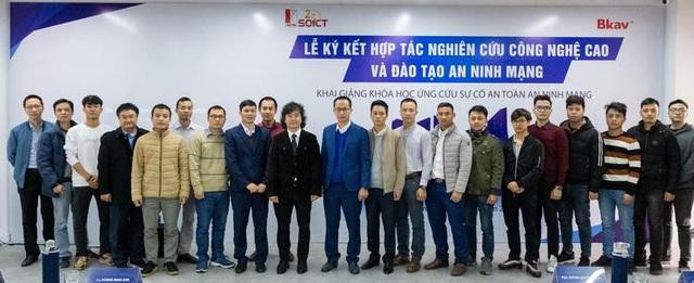 ĐHBK Hà Nội và Tập đoàn Bkav khai giảng khóa đào tạo chuyên gia bảo mật và an ninh mạng - Ảnh 1.