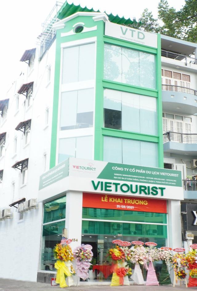 VieTourist mua tòa nhà làm trụ sở mới tại Tp. HCM - Ảnh 1.