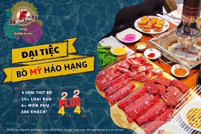 Meat Plus Hồ Tây: Pool party mùa hè cực chất