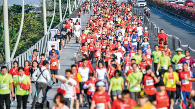"""Nhịp sống sau dịch: Hơn 13.000 vận động viên cùng Techcombank lan tỏa tinh thần """"Vì Một Việt Nam Vượt Trội"""" - Ảnh 3."""
