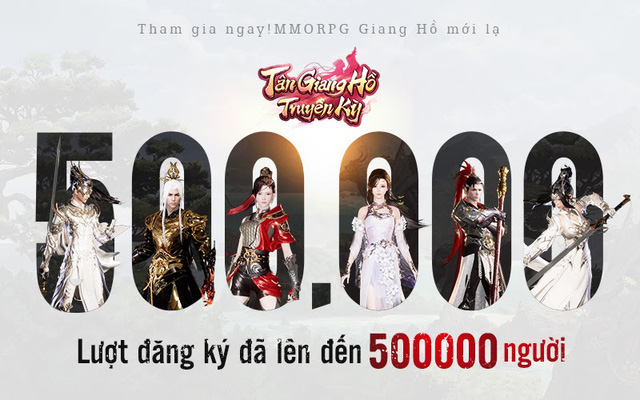Siêu phẩm Mobile MMORPG - Chiến là mê: Tân Giang Hồ Truyền Kỳ với hơn 500.000 lượt đăng ký, chính thức ra mắt vào 14/04 - Ảnh 1.