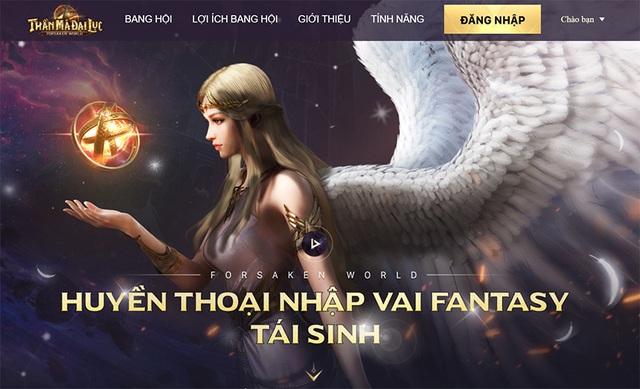 Ngay bây giờ, hãy vào Google Play và App Store để tải Forsaken World: Thần Ma Đại Lục - Ảnh 1.