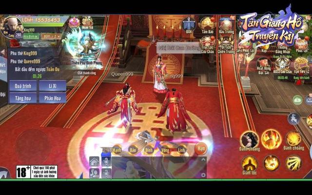 Siêu phẩm Mobile MMORPG - Chiến là mê: Tân Giang Hồ Truyền Kỳ với hơn 500.000 lượt đăng ký, chính thức ra mắt vào 14/04 - Ảnh 4.