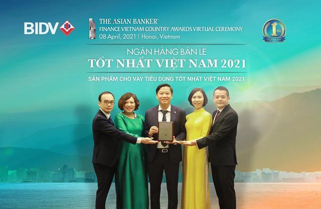 BIDV liên tiếp nhận giải Ngân hàng bán lẻ tốt nhất Việt Nam - Ảnh 1.