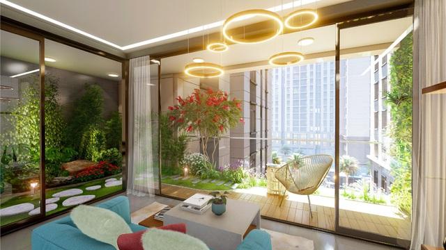 Chuẩn sống xanh tại tòa tháp đặc biệt thuộc dự án căn hộ resort Nam Sài Gòn - Ảnh 1.