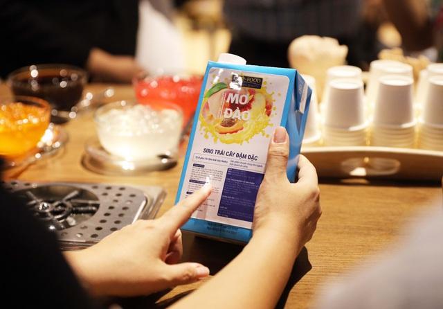 GLOFOOD ra mắt dòng sản phẩm siro trái cây tự nhiên dành riêng cho Food Service - Ảnh 1.