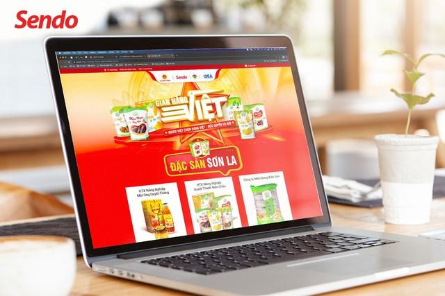 Sendo mở lối cho đặc sản Sơn La đến khách hàng trên toàn quốc - Ảnh 2.