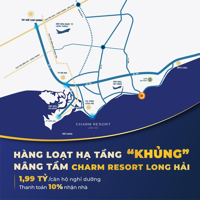 Bài toán sinh lời hấp dẫn của Charm Resort Long Hải - Ảnh 2.