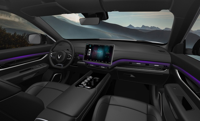 VinFast chọn công nghệ chip Nvidia trên ô tô điện thông minh tự hành - Ảnh 1.