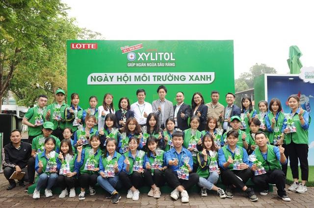 Giới trẻ tham gia bảo vệ môi trường cùng Lotte Xylitol - ảnh 1