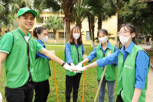 Giới trẻ tham gia bảo vệ môi trường cùng Lotte Xylitol - ảnh 2