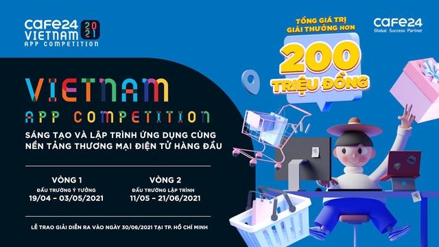 Cuộc thi online phát triển ứng dụng hỗ trợ eCommerce tiên phong tại Việt Nam - Ảnh 1.