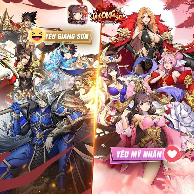 Tân OMG3Q VNG: Trò chơi mang trong mình trọng trách tân sinh dòng game đấu tướng tại Việt Nam - Ảnh 3.