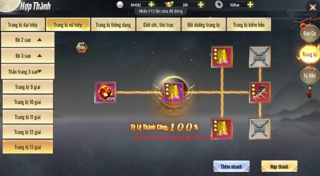 Thiên Long Kỳ Hiệp - game kiếm hiệp chính tông dựa trên tác phẩm Thiên Long Bát Bộ của Kim Dung sắp được VGP mang về Việt Nam - Ảnh 11.
