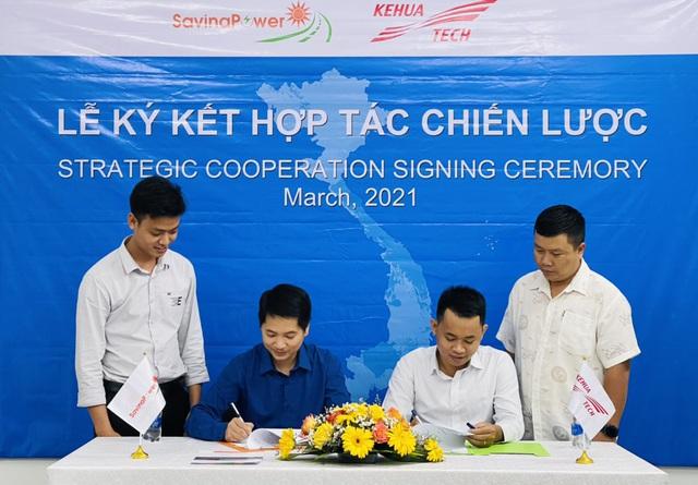 CTCP Năng Lượng Savina ký kết hợp tác chiến lược với NSX Inverter Kehua - Ảnh 1.