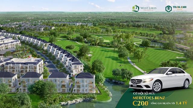 Chỉ cần 3,2 tỷ đồng dễ dàng sở hữu biệt thự sân golf tại Long An - Ảnh 1.