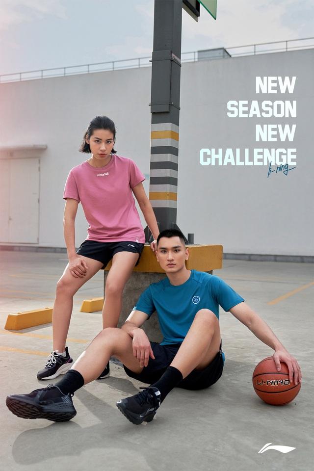 Khám phá mùa hè sôi động với lookbook New Season - New Challenge của Li-Ning - ảnh 1