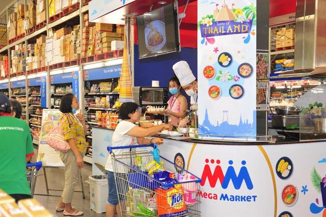 """""""Vui Tết Songkran"""" tại MM Mega Market: Điểm đến của người yêu ẩm thực và văn hóa Thái Lan - Ảnh 2."""