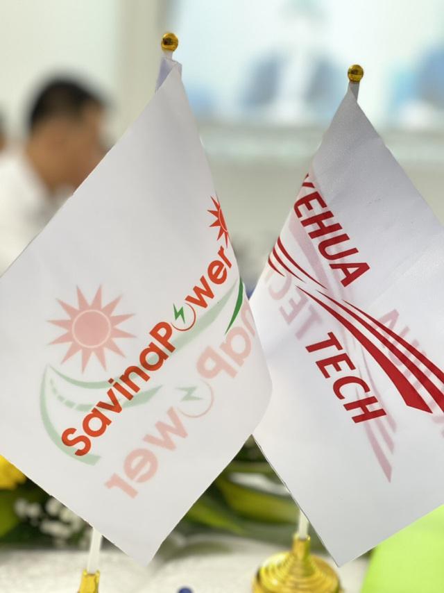 CTCP Năng Lượng Savina ký kết hợp tác chiến lược với NSX Inverter Kehua - Ảnh 2.