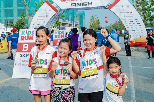 Hơn 500 vận động viên nhí hào hứng trải nghiệm cùng AEG tại Kids Run - Ảnh 3.