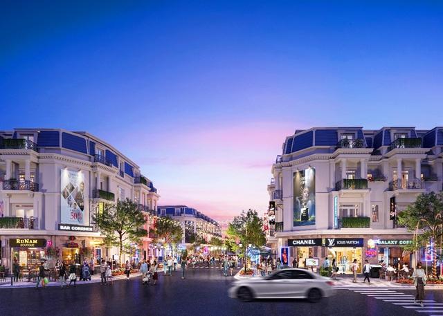 Shophouse Long An thu hút giới đầu tư trong quý I/2021 - Ảnh 1.