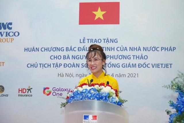 Nữ doanh nhân Nguyễn Thị Phương Thảo nhận huân chương Bắc đẩu bội tinh - Ảnh 1.
