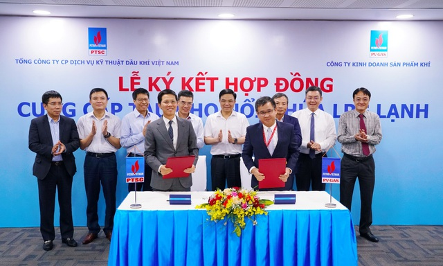 PV GAS và PTSC ký kết hợp đồng cung cấp tàu kho nổi chứa LPG lạnh - Ảnh 4.