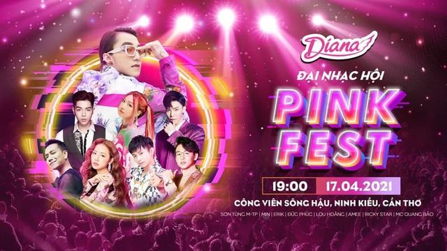 Sơn Tùng M-TP cùng dàn line-up cực phẩm sẽ comeback tại sân khấu phủ hồng siêu hoành tráng Diana Pink Fest! - ảnh 1