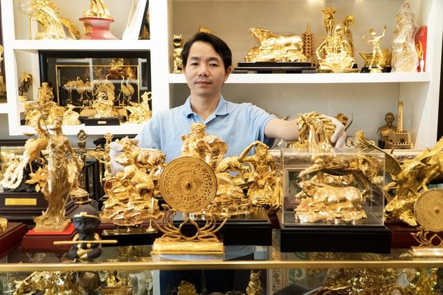 CEO Đinh Lâm Tới và King Gold Art phát triển dòng quà tặng vàng cao cấp Việt Nam - Ảnh 1.