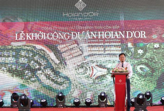 Khởi công Hoian d'Or – dự án giao thoa văn hóa, nghỉ dưỡng, du lịch giữa lòng di sản Hội An - Ảnh 1.