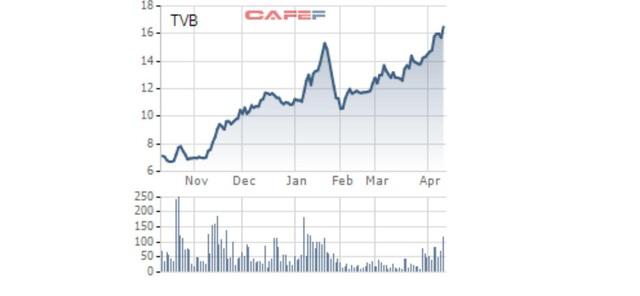 Chứng khoán Trí Việt (TVB): Lợi nhuận Quý I/2021 vượt cả năm 2020 - Ảnh 2.