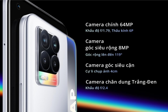 realme 8 series ra mắt với camera 108mp cùng thiết kế thời thượng cho người dùng trẻ - Ảnh 3.