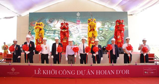 Khởi công Hoian d'Or – dự án giao thoa văn hóa, nghỉ dưỡng, du lịch giữa lòng di sản Hội An - Ảnh 4.