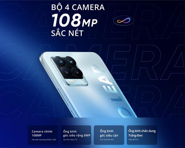 Chính thức gia nhập thị trường smartphone với camera khủng 108MP, realme 8 Pro có gì vượt trội? - Ảnh 1.