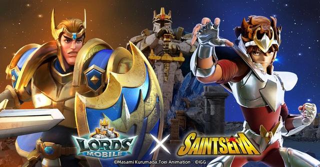 Sự kết hợp IP giữa Lords Mobile × Saint Seiya! Hợp tác đầu tiên của Lords Mobile và IP Anime nổi tiếng! - Ảnh 1.