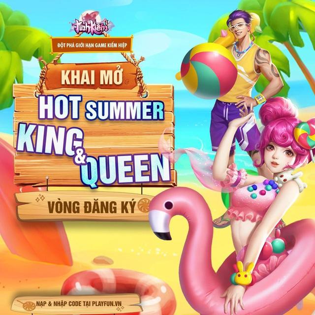 Tình Kiếm treo thưởng PS5 cho Top 1 cuộc thi Bikini: Hứa hẹn đốt cháy mùa hè của anh em game thủ ngay từ vòng đầu tiên - Ảnh 1.