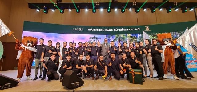 Sài Gòn Land phân phối khu phức hợp bất động sản hàng hiệu mang thương hiệu Marriott - Ảnh 1.