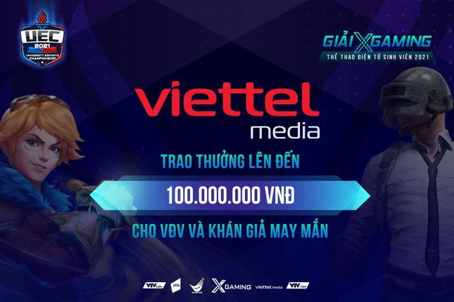 Thưởng 100 triệu đồng cho VĐV và khán giả may mắn trong đêm Chung kết Xgaming - UEC 2021 Photo-1-16190866417671331560294