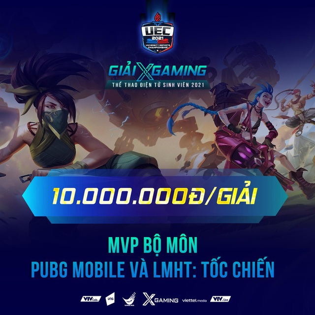 Nóng! Viettel Media mạnh tay trao thưởng 100 triệu đồng cho VĐV và khán giả may mắn trong đêm Chung kết Xgaming - UEC 2021 - Ảnh 2.