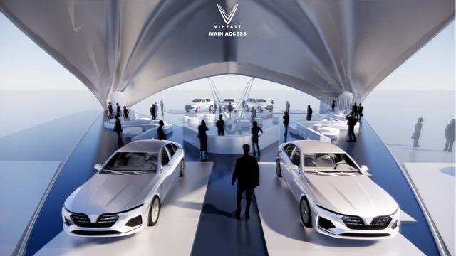 Công bố kết quả cuộc thi thiết kế showroom VinFast toàn cầu 2021 - Ảnh 4.