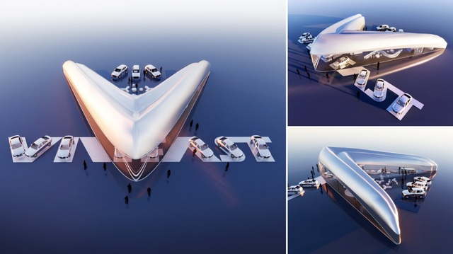 Công bố kết quả cuộc thi thiết kế showroom VinFast toàn cầu 2021 - Ảnh 5.