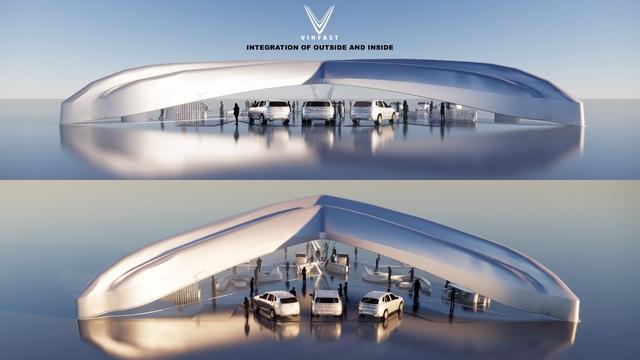 Công bố kết quả cuộc thi thiết kế showroom VinFast toàn cầu 2021 - Ảnh 7.