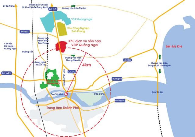Quảng Ngãi phát triển đột phá qua hạ tầng giao thông - Ảnh 1.