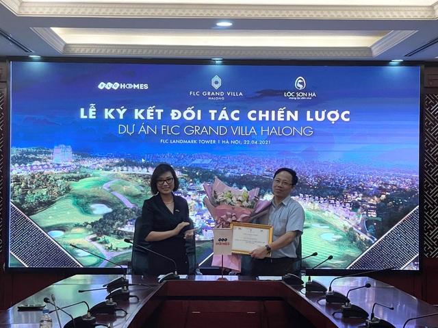 FLCHomes ký kết hợp tác phát triển giai đoạn mới dự án FLC Grand Villa Halong - Ảnh 1.