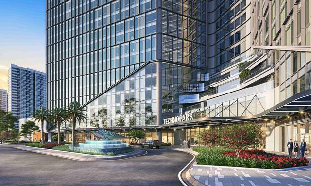 Thiết kế xanh bên vững, TechnoPark Tower chinh phục cộng đồng doanh nghiệp công nghệ - Ảnh 3.