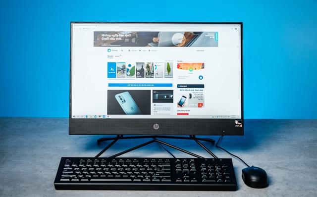 HP 205 Pro G4 AiO Non-Touch : Máy tính AMD liền màn hình chi phí hợp lý cho doanh nghiệp - Ảnh 1.