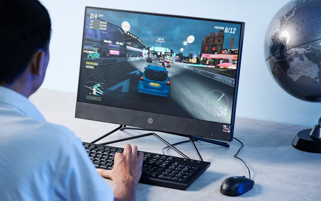 HP 205 Pro G4 AiO Non-Touch : Máy tính AMD liền màn hình chi phí hợp lý cho doanh nghiệp - Ảnh 2.