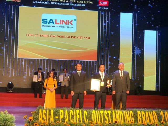 """Salink Việt Nam  vinh dự nhận giải """"Thương hiệu tiêu biểu châu Á – Thái Bình Dương"""" - Ảnh 1."""